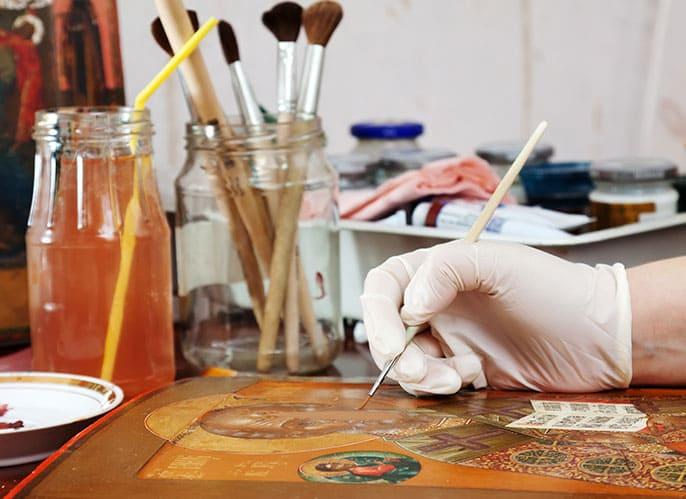 Βυζαντινή ζωγραφική. Η Τέχνη και η Θεολογία των εικόνων